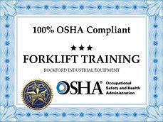 OSHA Forklift Rockford