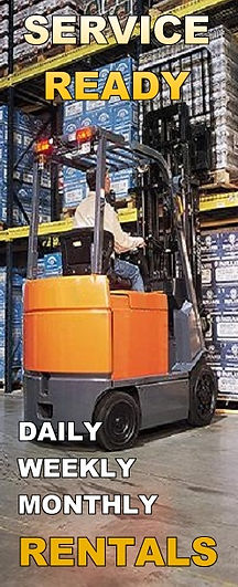 Daily Weekly Monthly Forklift Rentals