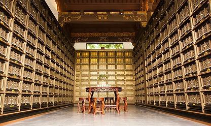ancient chinese architecture columbarium