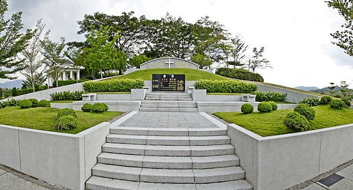 Christian burial plot