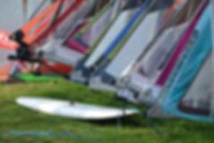 Deska windsurfingowa i Sails