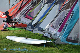 Windsurf Board and Sails