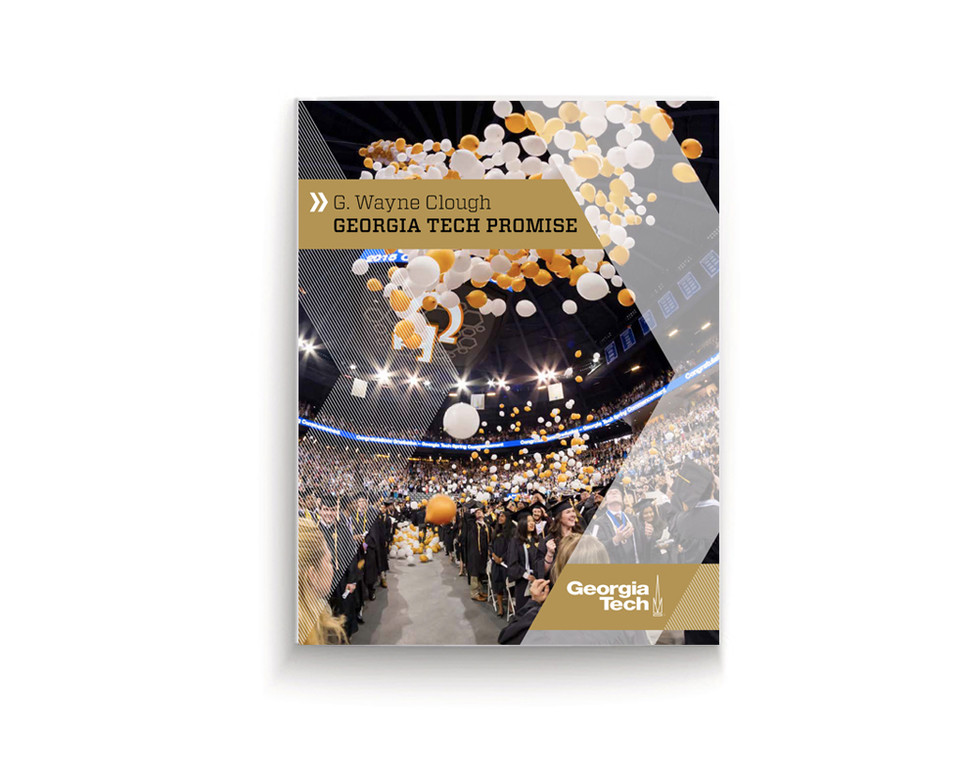Georgia Tech fundraising Brochure