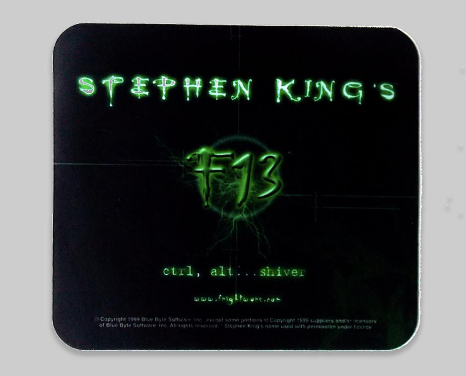 Stephen King's F13 mousepad