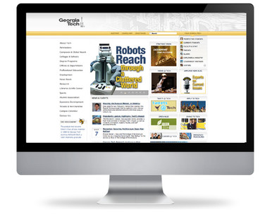 GT Web Redesign: Before