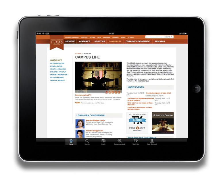 UT Austin Web Redesign