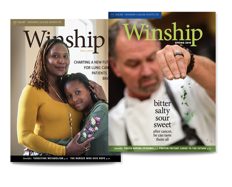 WInship Cnacer Center magazine