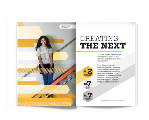 Georgia Tech Admission brochure