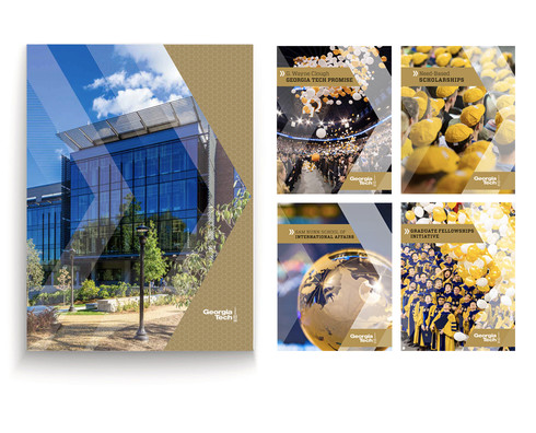 Georgia Tech fundraising brochures