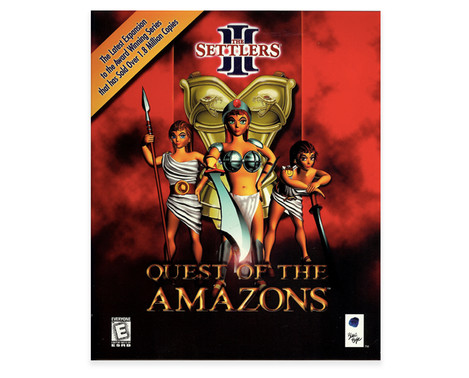 The Settlers: Quest of the Amazons Packaging