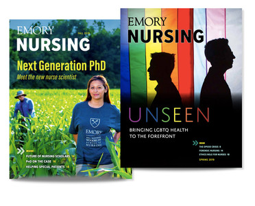 Emory Nursing magazine