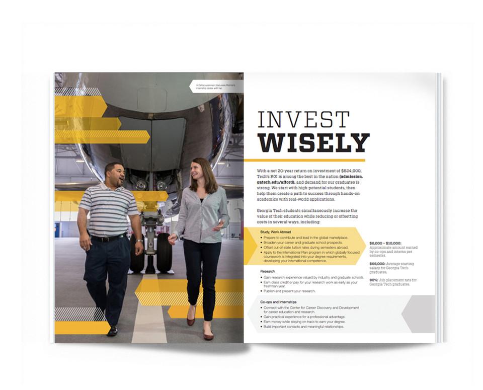Georgia Tech Admissions brochure