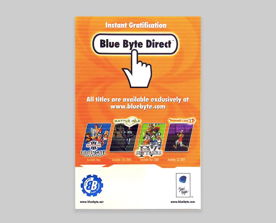Blue Byte Direct mailer