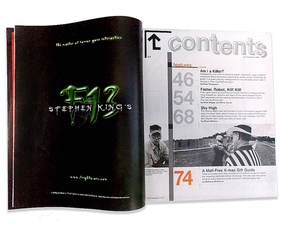 Stephen KIng's F13 ad