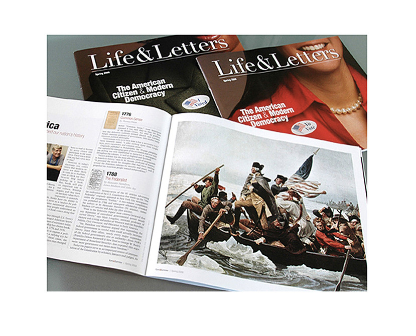 College of Liberal Arts Life & Letters Magazine