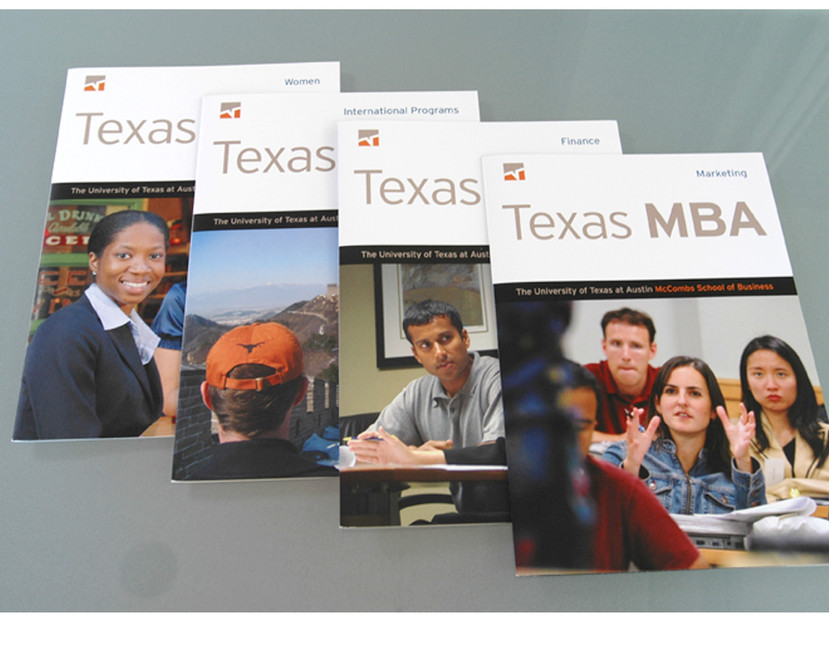 McCombs School of Business collateral