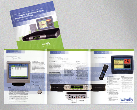 Wavefly Digital Media Player and Media Gateway brochure