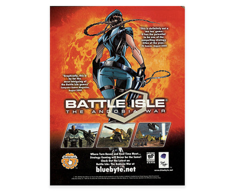Battle Isle Advertisement