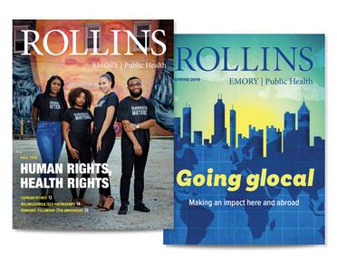 Emory Rollins magazine