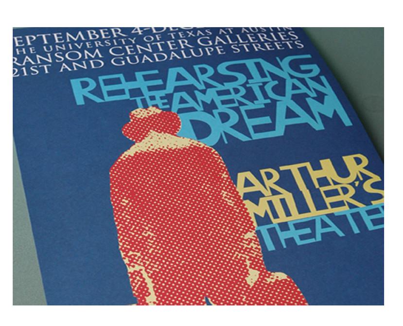 Ransom Center: Rehersing the American Dream: Arthur Miller Exhibition