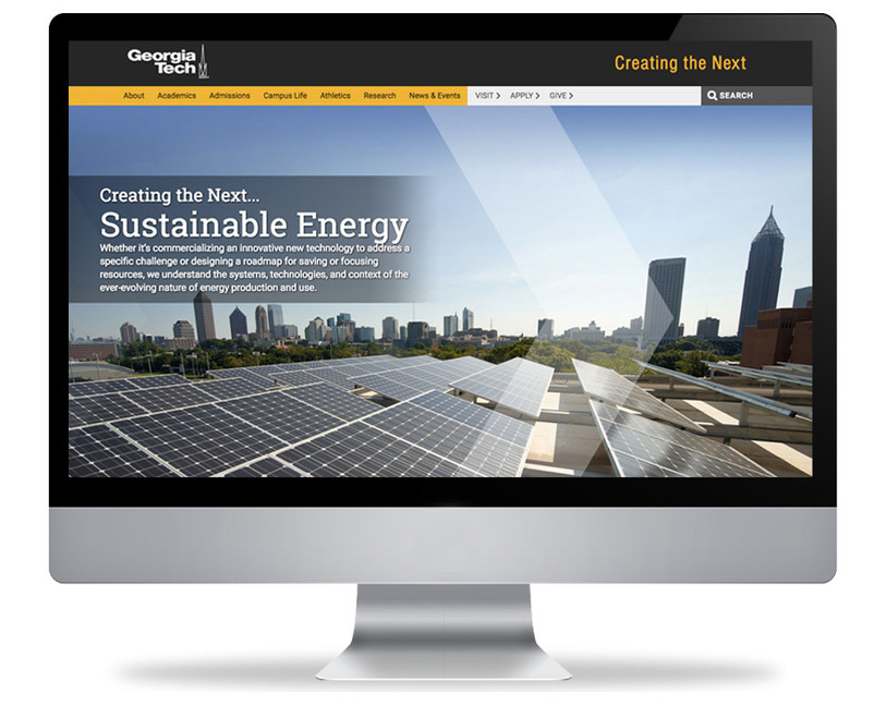 Creating the Next: Sustainable Energy