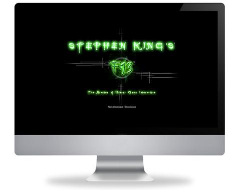 Stephen King's F13 Web Site