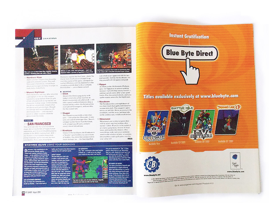 Blue Byte Direct ad