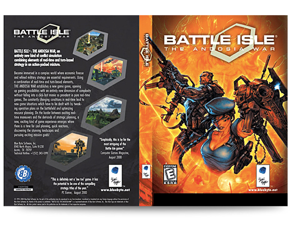Blue Byte Battle Isle pacakaging
