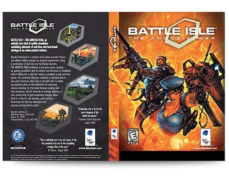 Blue Byte Battle Isle Packaging
