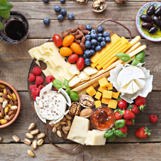 Low FODMAP, IBS friendly and Monash certified Dietitian approved grazing platter