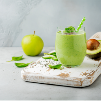 Low FODMAP, IBS friendly, and Monash certified Dietitian approved green smoothie
