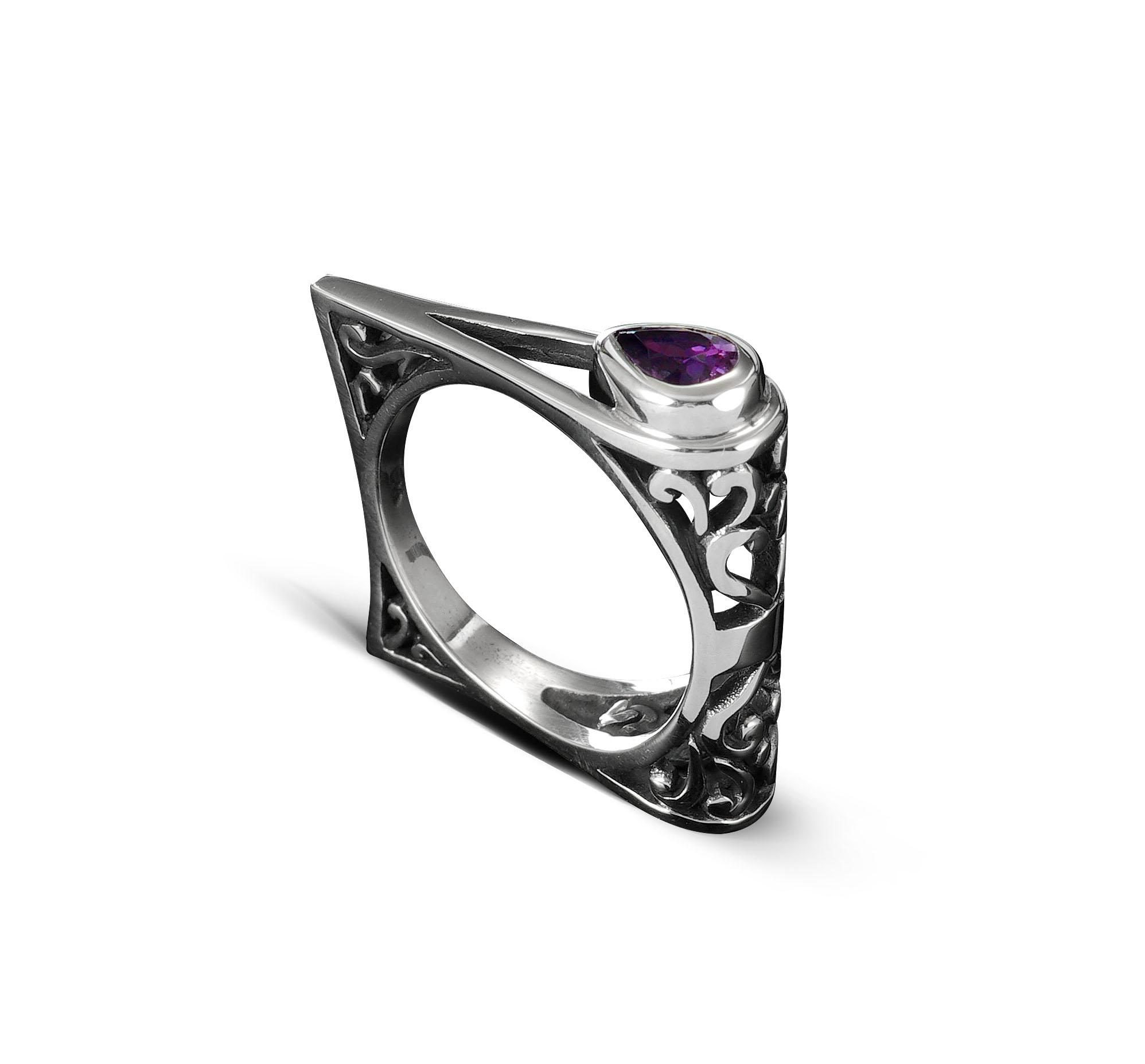 KS050-silver-ring