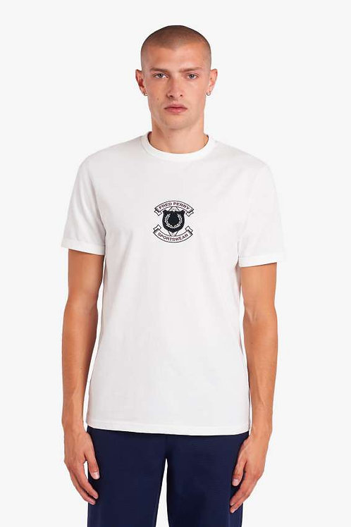 CAMISETA PARCHE FRED PERRY