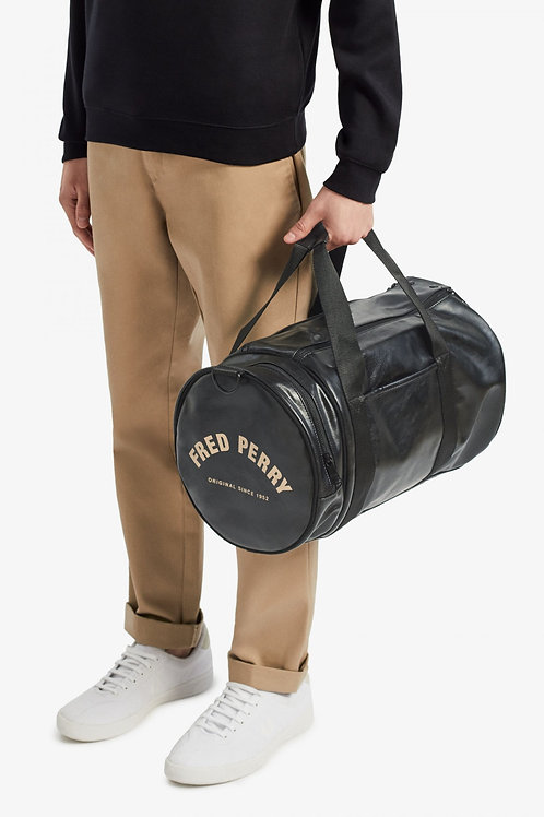 BARRIL FRED PERRY NEGRA