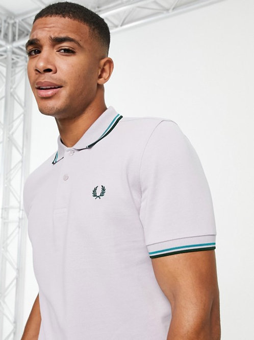 POLO FRED PERRY RIBETES