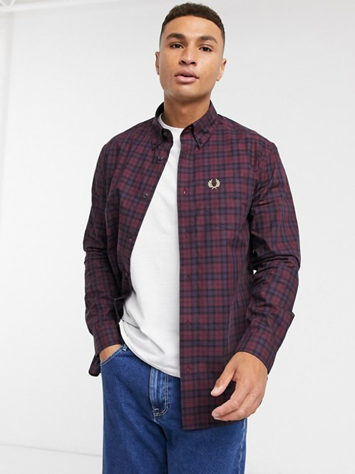 CAMISA CUADROS FRED PERRY