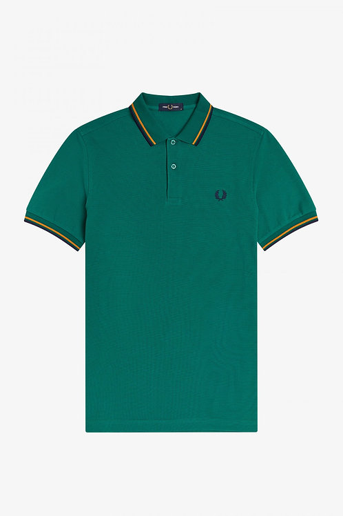 POLO FRED PERRY VERDE BOTELLA