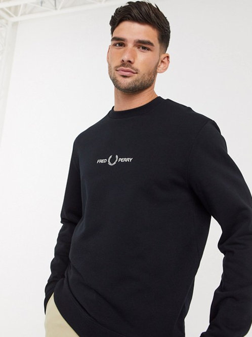 SUDADERA GRÁFICA FRED PERRY