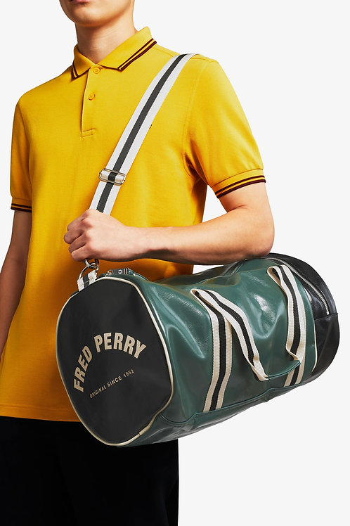 BOLSA BOWLING BICOLOR FRED PERRY