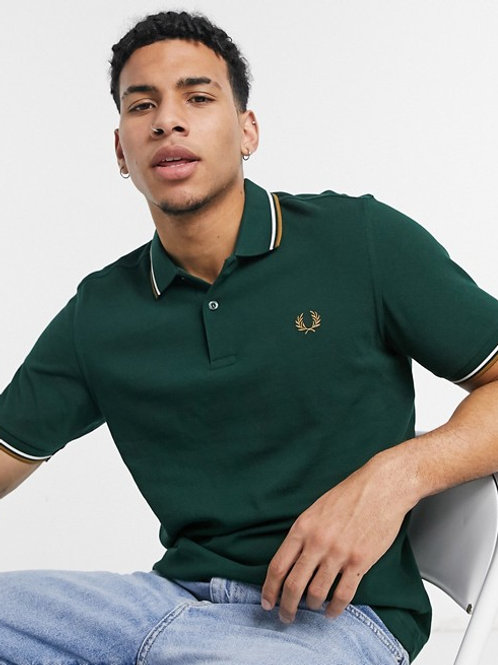 POLO VERDE FRED PERRY