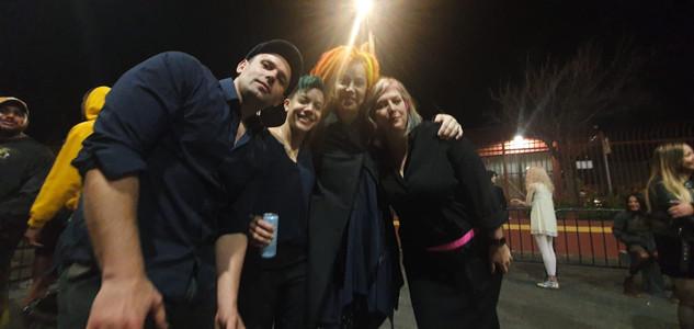 with director Lana Wachowski