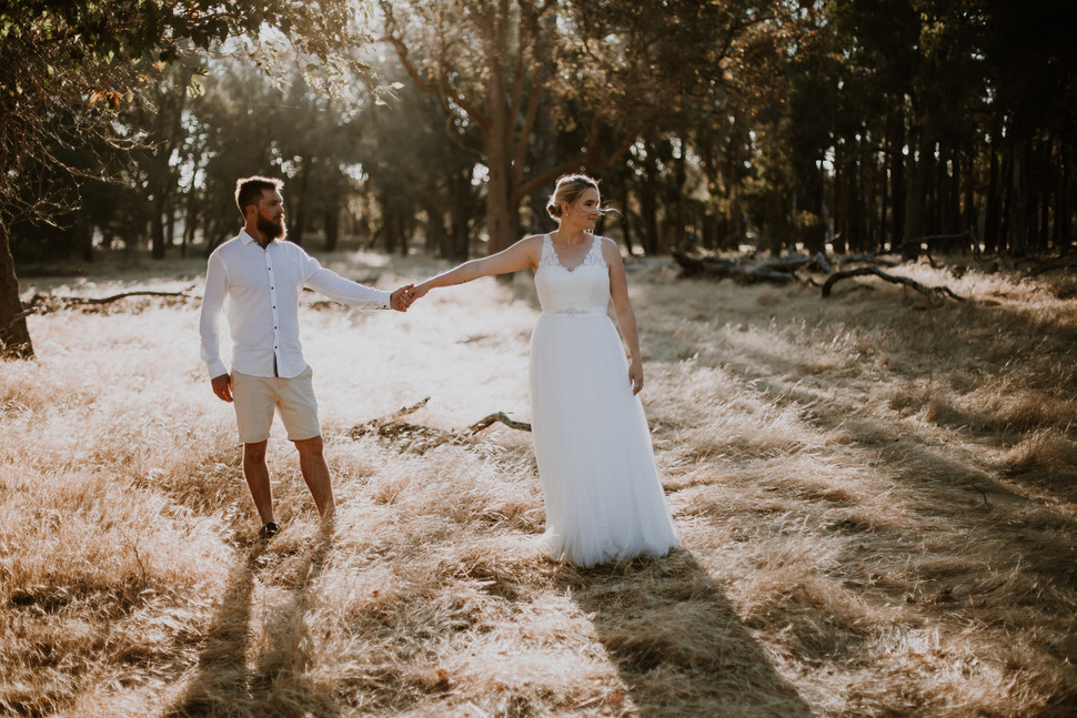 Nadine & Dean // Busselton Wedding