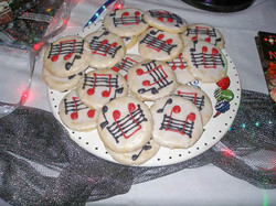 Musical Notes Cookies