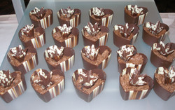 French Silk Marbled Hearts
