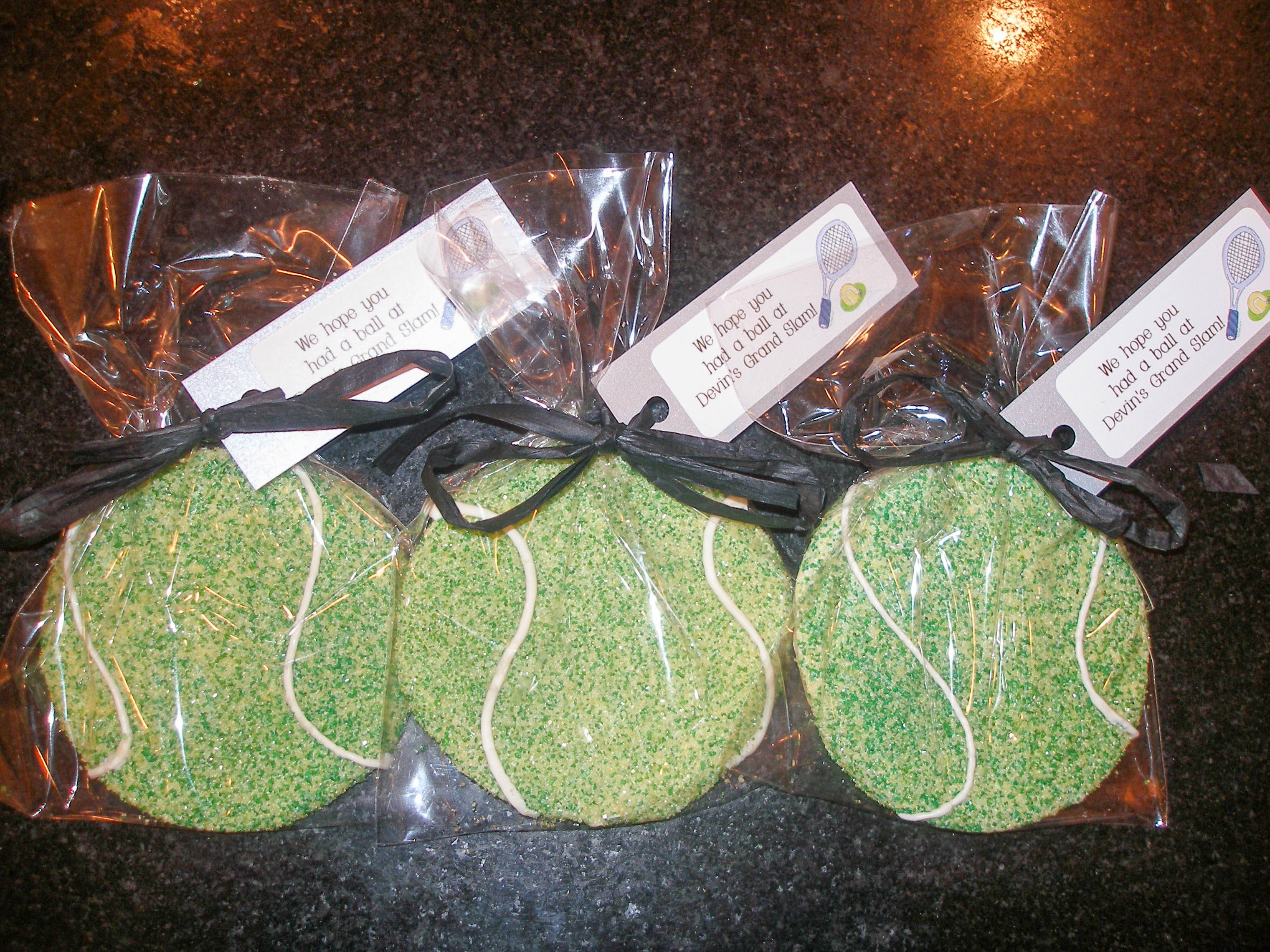 Tennis Sugar Cookies