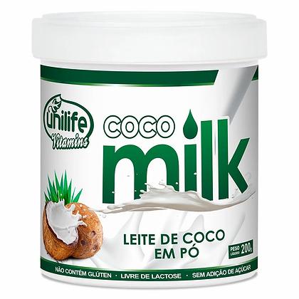 COCO MILK LEITE DE COCO EM PÓ UNILIFE 200G