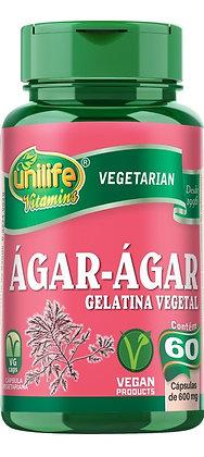ÁGAR-ÁGAR UNILIFE 60CAPS