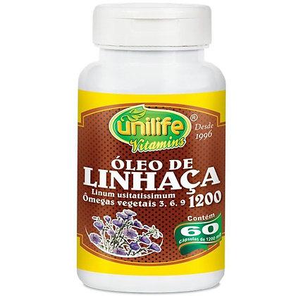 ÓLEO DE SEMENTE DA LINHAÇA DOURADA UNILIFE60CAPS