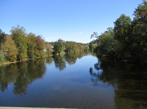 Nearby Greenbrier River