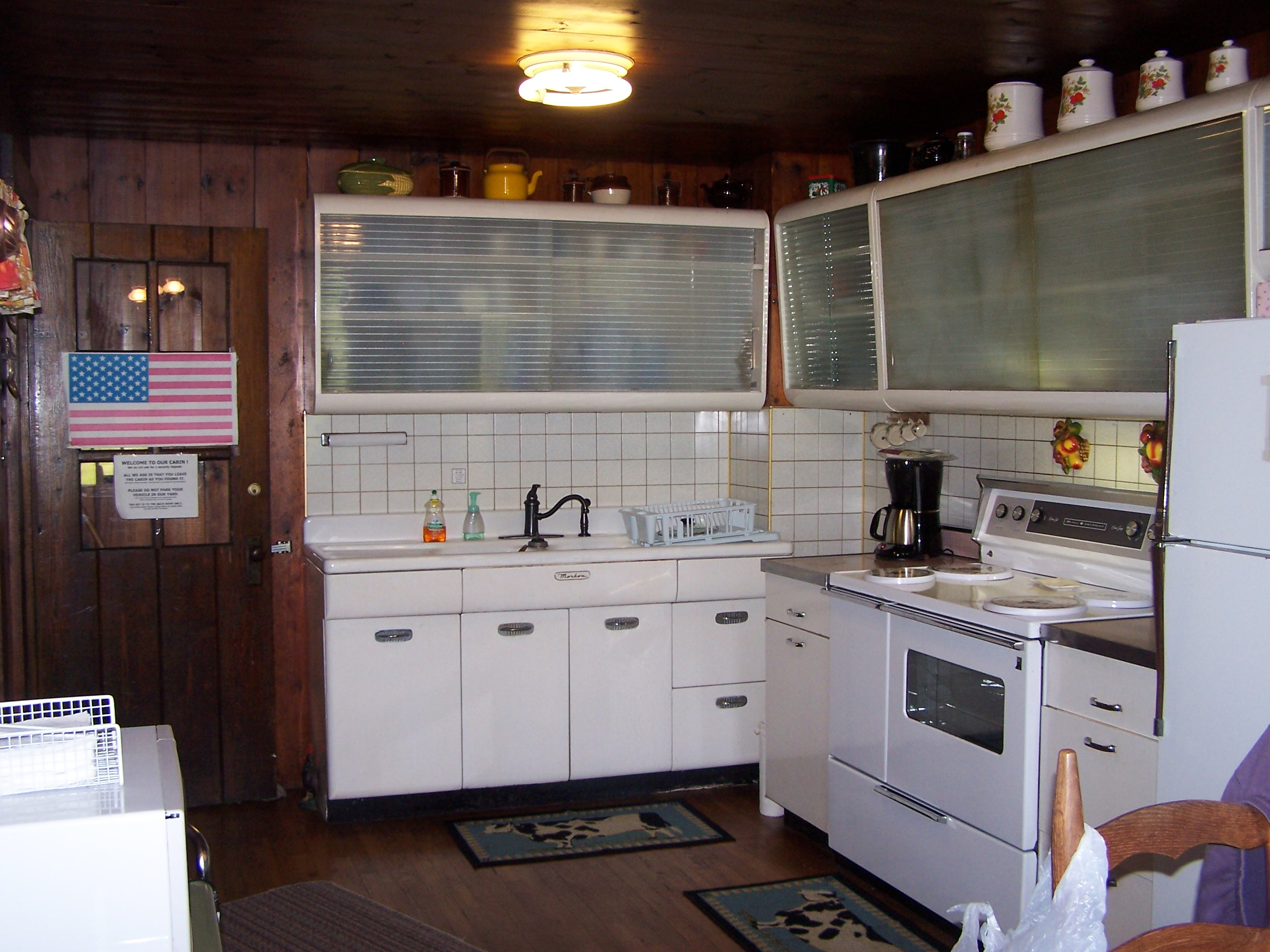 Kitchen inside retreat